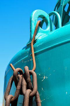 boeiend (blauw) van Nynke de Bruijne