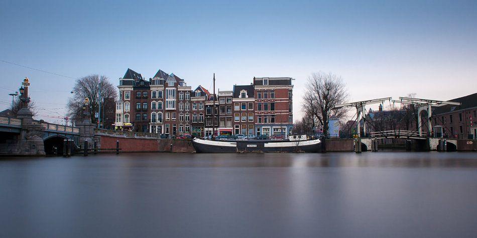 Blauwbrug over de Amstel