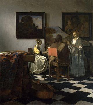 Das Konzert, Vermeer - ca. 1665