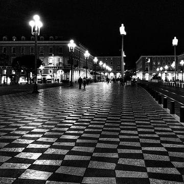 Het grote plein in Nice von SPOOR Spoor