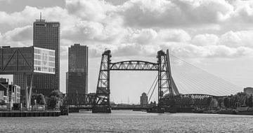 De Hef und die Noordereiland in Rotterdam von MS Fotografie | Marc van der Stelt