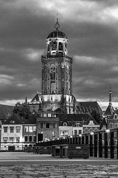 Lebuïnus kerk Deventer z/w