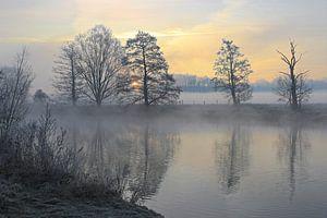 Winter in het Ruhrgebied