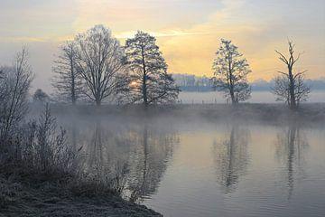 Winter an der Ruhr von Bernhard Kaiser