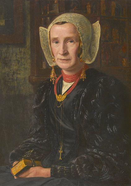 Mart van Regteren Altena, Stiefelfrau, 1905 von Atelier Liesjes