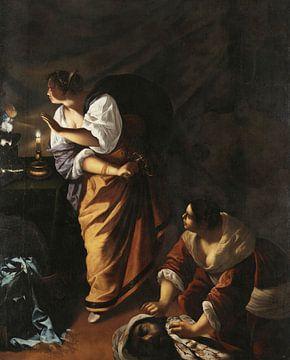 Judith und ihre Magd mit dem Haupt des Holofernes, Artemisia Gentileschi