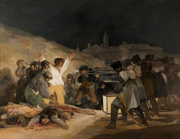 The Third of May, Francisco de Goya sur