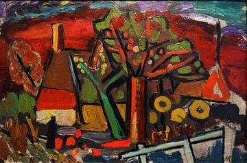 Landschaft bei Bennekom, Herman Justus Kruyder, 1925 von Atelier Liesjes