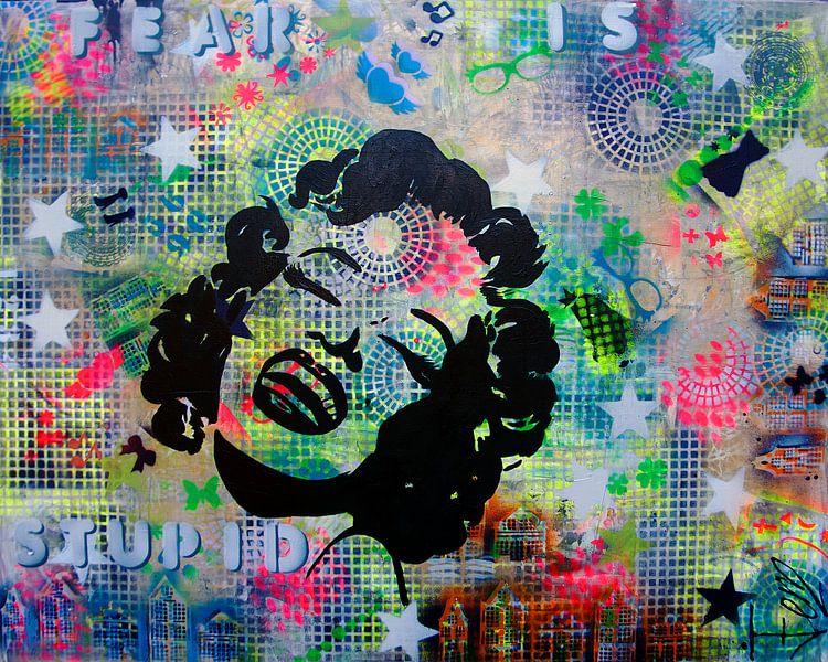 Marilyn Monroe van Femke van der Tak (fem-paintings)
