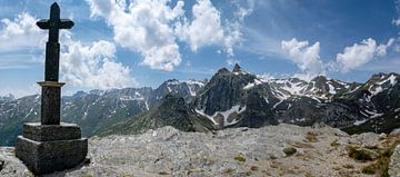 Grote Sint-Bernhardpas panorama