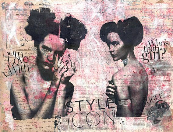 A Style Icon van click4 collage