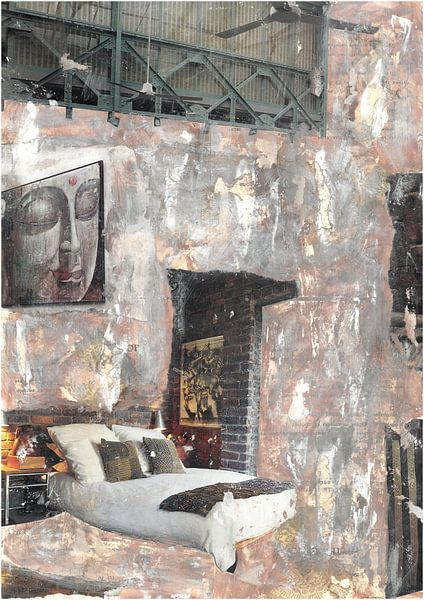 Mysterious Abandoned Room von click4 collage