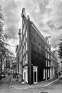 Prinsengracht hoek Bloemgracht in Amsterdam.