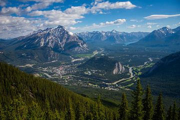 Banff, Alberta, Canada van Eline Huizenga