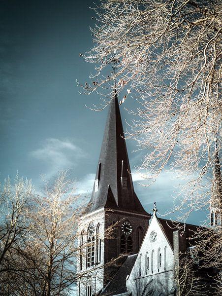 Sint Lambertus kerk Beers #4 van Lex Schulte