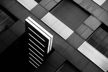 Modern Architecture B&W Series III van Insolitus Fotografie