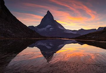 Matterhorn  Sunset van Sander van der Werf