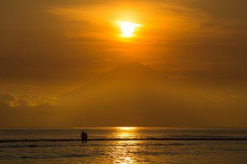 Bali zonsondergang von Andre Jansen