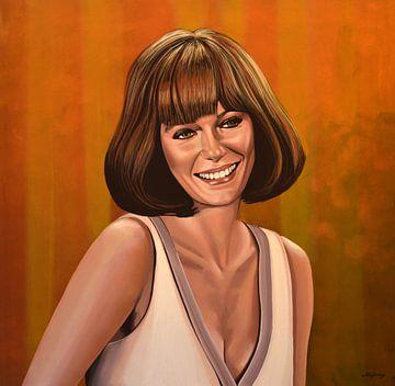 Jacqueline Bisset Schilderij van Paul Meijering