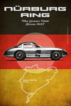Nürburgring Vintage Uhlenhaut Coupe van Theodor Decker