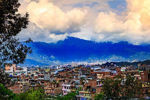 Kathmandu in Nepal van