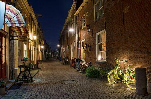 De Trompetstraat in Delft