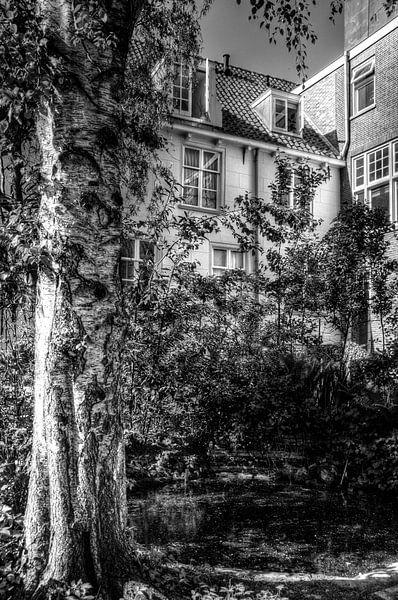 Verborgen tuinen in historisch Amersfoort van Watze D. de Haan