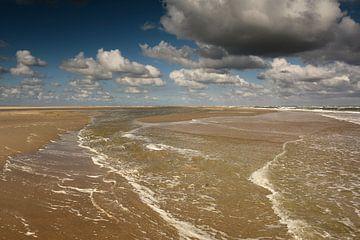Lang de waterlijn Texel van
