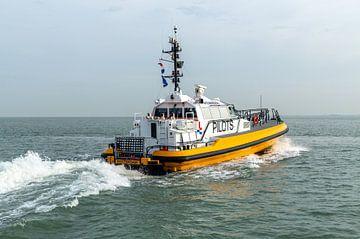 Loodsboot Rotterdam van MSP Canvas