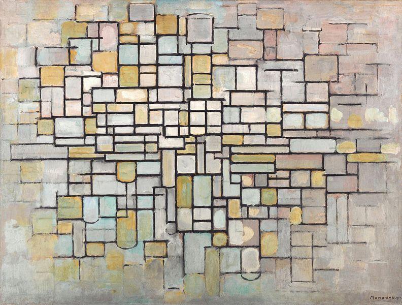 Piet Mondriaan No. 11 von 1000 Schilderijen