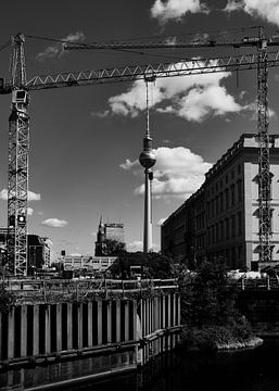 Ingelijst Berlijn van Iritxu Photography
