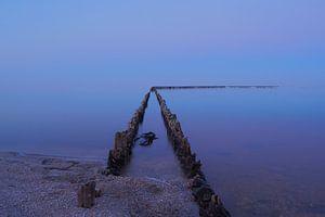 Stilleven aan het IJsselmeer van