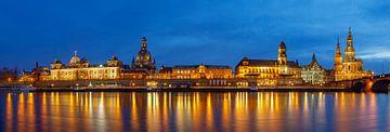 Dresdner Altstadtpanorama von Daniela Beyer