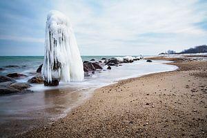Winter time on the Baltic Sea coast.