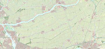 Kaart van Molenlanden