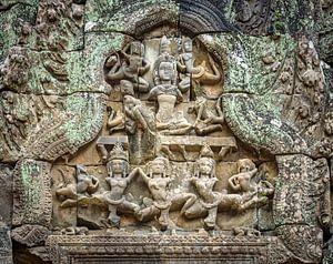 Tänzerinnen im Tempel, Kambodscha