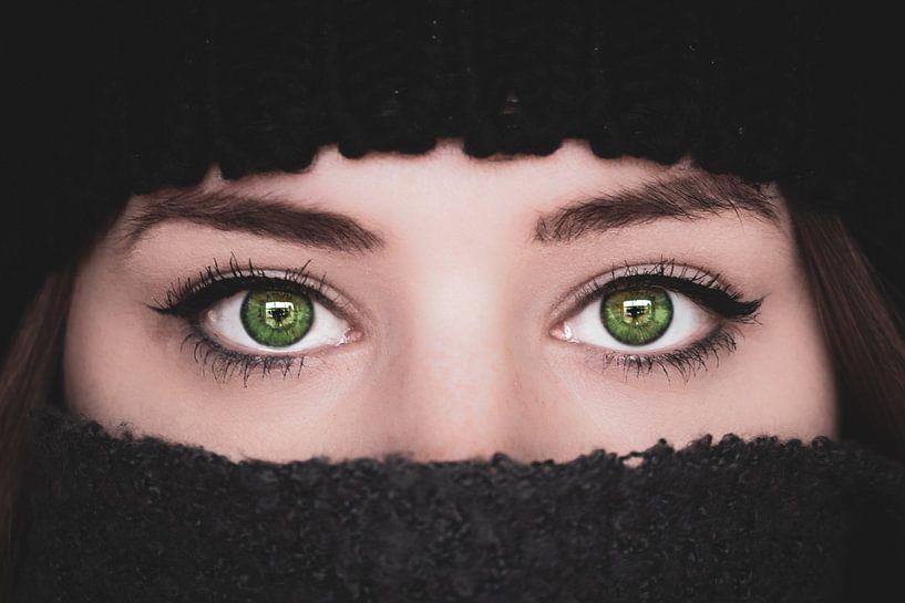 Groene ogen van Samantha Levolger
