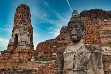 Mahathat Tempel in Ayutthaya von Bernd Hartner