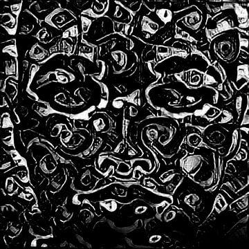 Abstract Inspiratie XXXVI van Maurice Dawson