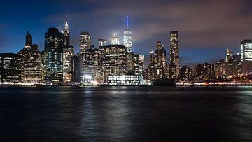 NYC skyline van Bjorn van der Wee