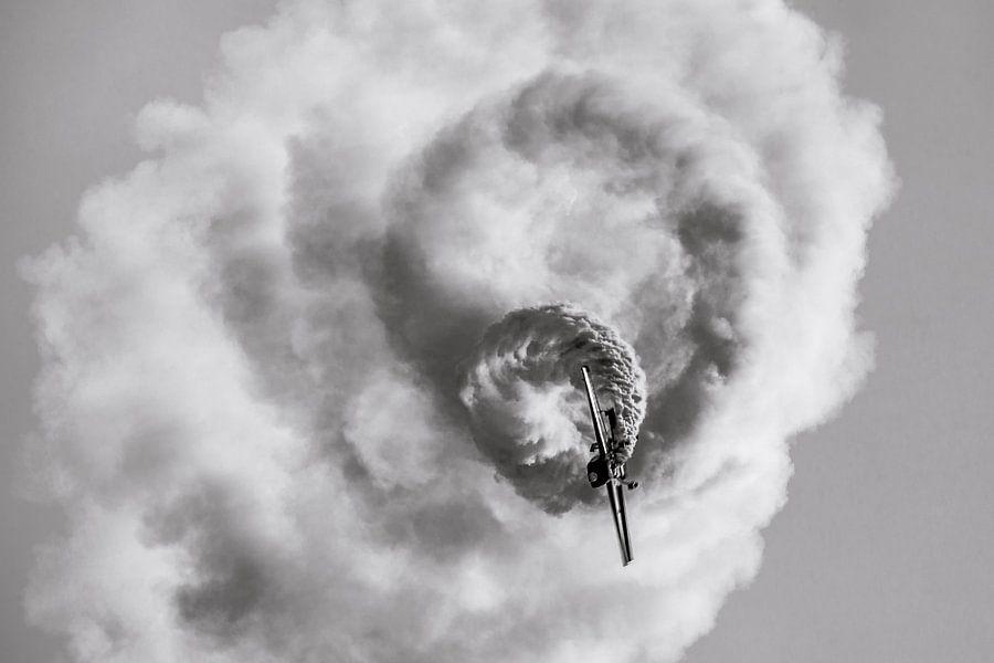 Dansende Falcon in de lucht...