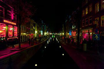 Red Light District Amsterdam van