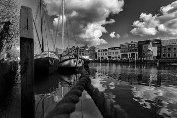 Wolwevershaven Dordrecht kade von Rob van der Teen