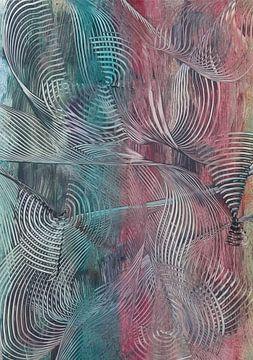 Gestreepte spiralen van Bethina de Reus