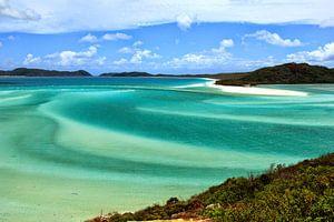 De parelwitte stranden van de Whitsunday Eilanden van Daphne de Vries