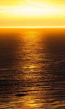 Natur | Goldener Sonnenuntergang - Helgoland von Servan Ott