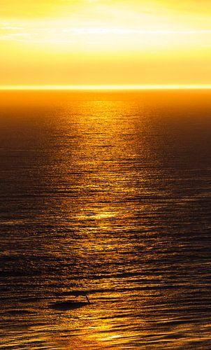 Natuur | Gouden ondergaande zon - Helgoland van