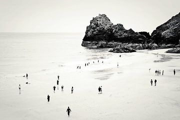 Cornwall beach life van