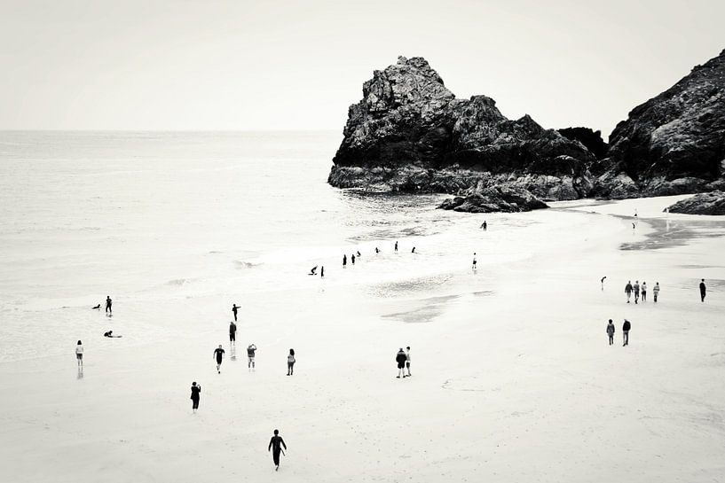 Cornwall beach life van Dorit Fuhg