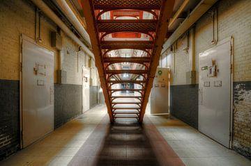 Trap in gevangenis von Kurt Dendooven